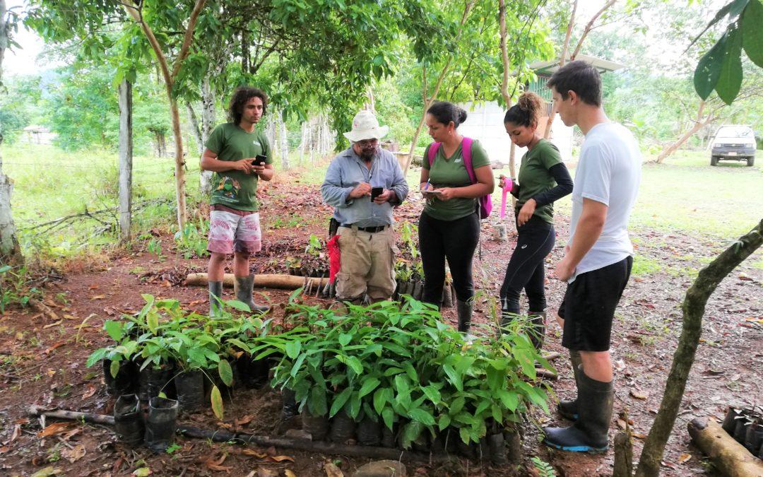 Aprendiendo sobre la diversidad de la flora en la comunidad de Rancho Quemado